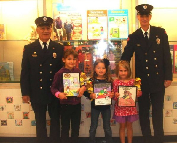 Old Lyme Fire - Fire Prevention 2012 Contest Winners
