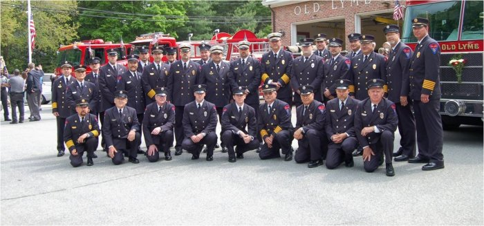 Old Lyme Fire - The Members